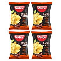 Kit 04 Batatas Chips Costelinha Com Limão Valor 45g